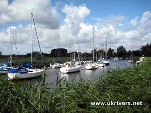 Yachts on the River Frome, Wareham