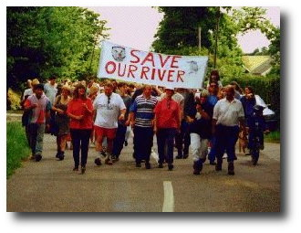 Teigngrace two rivers campaign, 1997